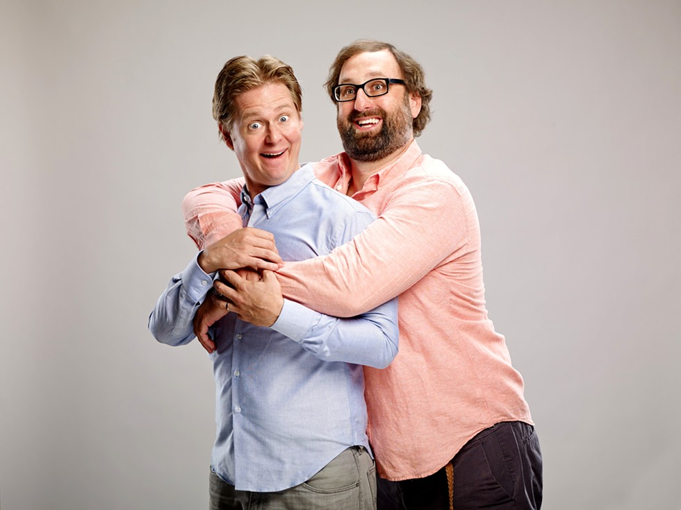 Tim Heidecker and Eric Wareheim. - RICKETT & SONES