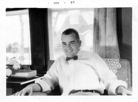 Ed Kiska, November 1957.