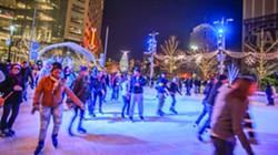Ice rink at Campus Martius
