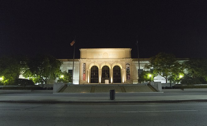 The Detroit institute of Arts. - STEVE NEAVLING