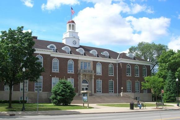 Dearborn City Hall - PHOTO VIA ARTSPACE PROJECTS INC. FACEBOOK