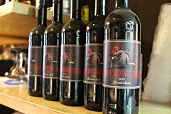 The legend of the Red Dwarf has caught on, now appearing on Nain Rouge Red by Woodberry Wine. - SARAH RAHAL
