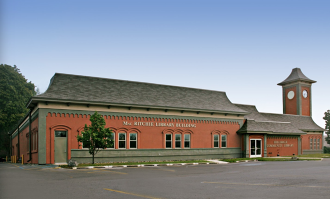 Hillsdale Community Library. - PHOTO VIA GOOGLEMAPS