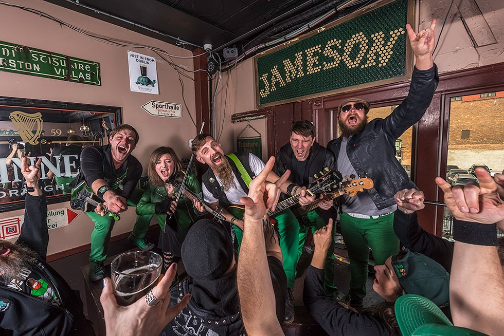Stone Clover and Billy Grogan's Goat will perform starting at 10:30 a.m. on Sunday, March 15. The Codgers and Singer Soldier will perform starting at 4 p.m. on Tuesday, March 17 at PJ's Lager House; 1254 Michigan Ave., Detroit; 313-961-4668; pjslagerhouse.com. No cover for either event. - DOUG COOMBE