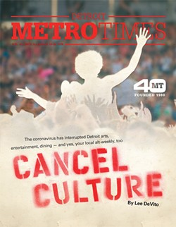 The cover of this week's Metro Times. - TOM CARLSON