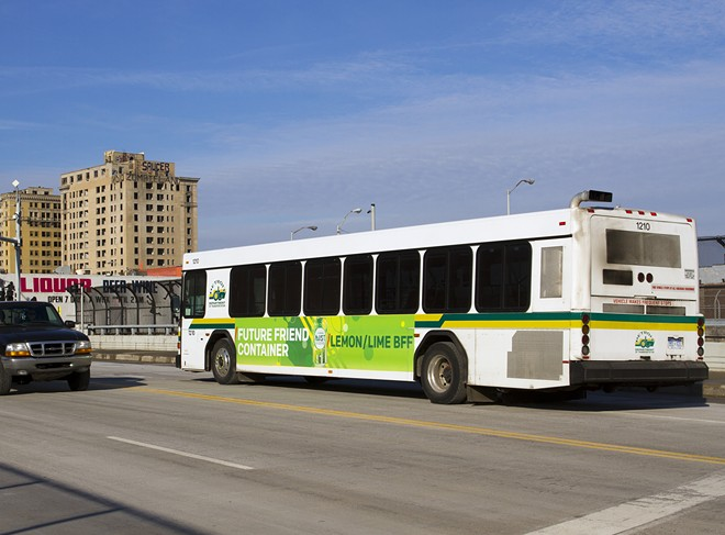 DDOT bus in Detroit. - STEVE NEAVLING
