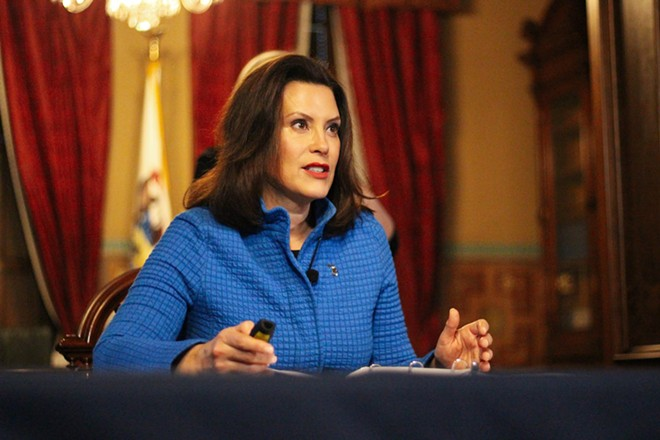 Gov. Gretchen Whitmer. - COURTESY OF THE OFFICE OF THE GOVERNOR