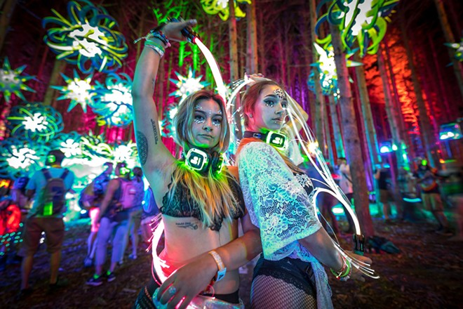 Electric Forest. - COURTESY OF ELECTRIC FOREST