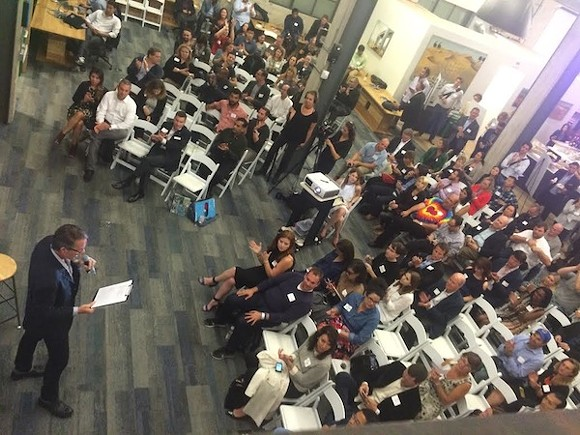A NewCo event, pictured here, can be a paradigm-shifting, solutions-oriented, game-changer for the innovation economy. - PHOTO COURTESY NEWCO