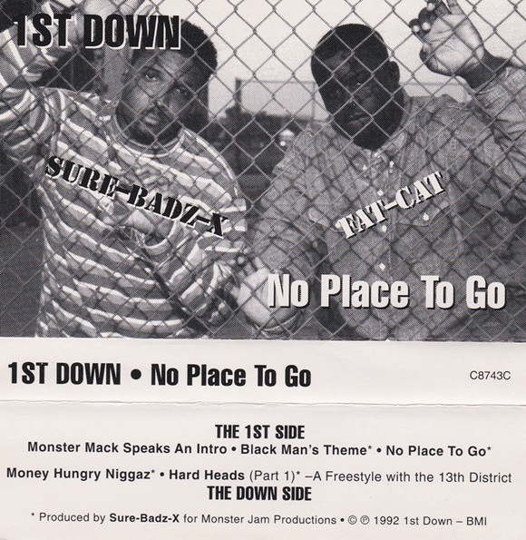 """This 1st down cassette includes Dilla's first production """"credit"""" (not the first thing he produced but the first music he's actually credited with producing)."""