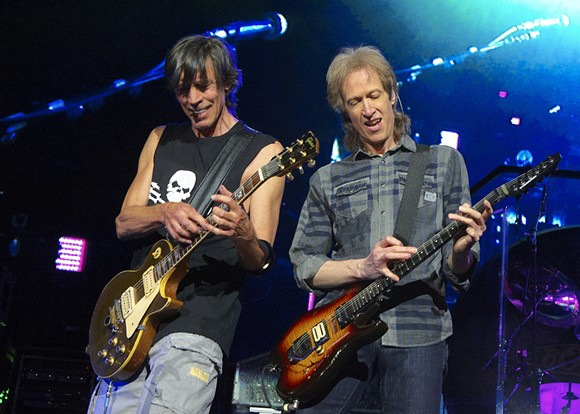 Tom Scholz (left) and Gary Pihl (right). - PHOTO BY BOB SUMMERS