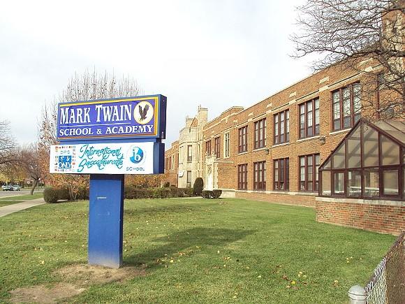Mark Twain Academy, a DPS school in southwest Detroit. - NOTORIOUS4LIFE VIA WIKIMEDIA COMMONS