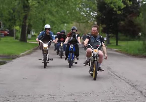 """SCREEN CAPTURE FROM """"DETROIT MOPED CITY"""""""