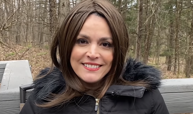 SNL's Cecily Strong as Gretchen Whitmer. - SCREEN GRAB/YOUTUBE