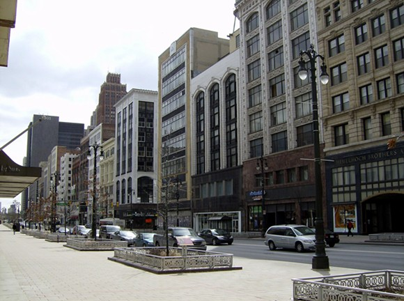 Lower Woodward Historical District, also known as Merchant's Row - MIKERUSSELL VIA WIKIMEDIA COMMONS