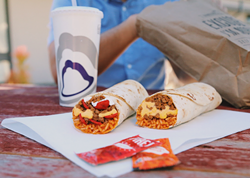TACO BELL SENT US THIS PICTURE.