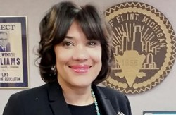 Mayor Karen Weaver. - PHOTO COURTESY CITY OF FLINT.