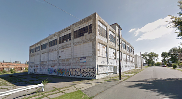 GOOGLE STREET VIEW OF 1800 18TH ST., DETROIT.