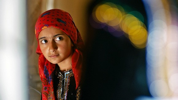 """The lushly photographed """"I am Nojoom, Age 10, and DIvorced"""" will be part of the Arab Film Festival. - COURTESY ARAB AMERICAN NATIONAL MUSEUM"""