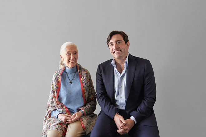 Dr. Jane Goodall and Neptune Wellness Solutions CEO Michael Cammarata partner to co-develop natural health and wellness products under the Forest Remedies brand. - CNW GROUP/NEPTUNE WELLNESS SOLUTIONS INC.
