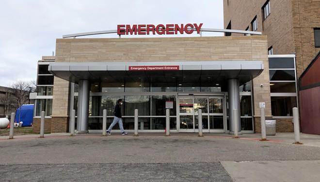 John D. Dingell VA Medical Center in Detroit. - STEVE NEAVLING