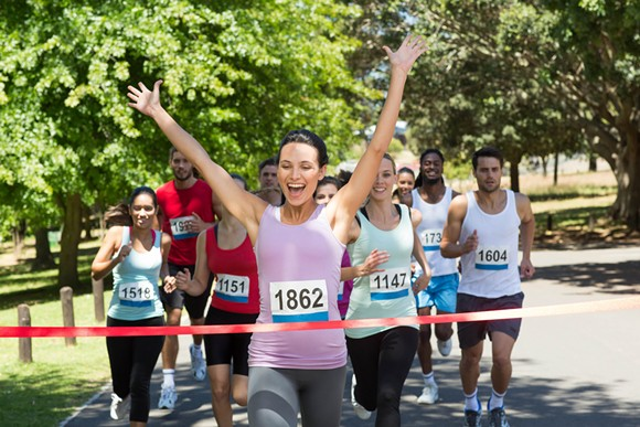 You go, runner 1862. - PHOTO VIA SHUTTERSTOCK