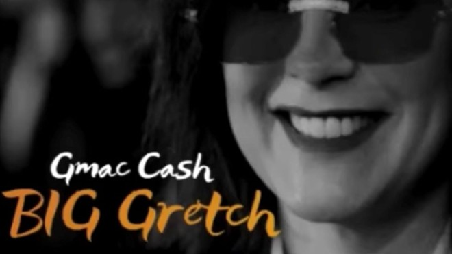 "The album art for Detroit rapper Gmac Cash's ""Big Gretch."""
