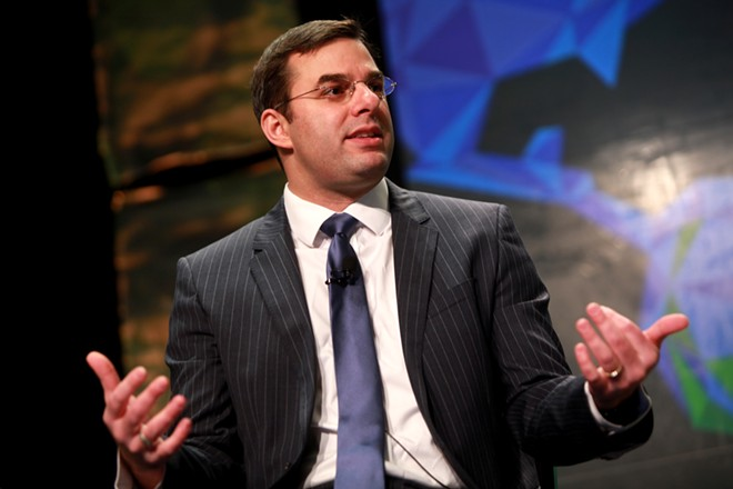 U.S. Rep. and 2020 Libertarian Party candidate Justin Amash. - GAGE SKIDMORE, FLICKR CREATIVE COMMONS
