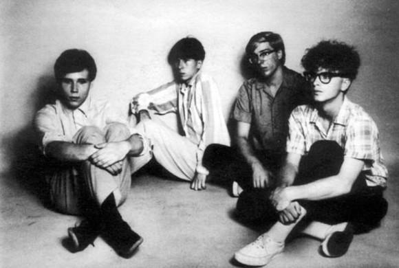 "BACK COVER TO THE FEELIES' ""FA CÉ-LA"" SINGLE, 1979"