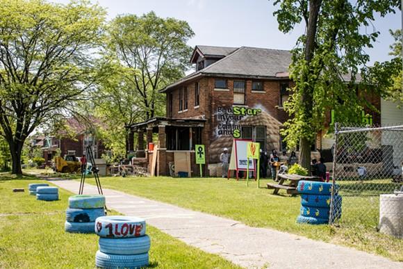 FUTURE SITE OF THE HOMEWORK HOUSE | COURTESY PHOTO