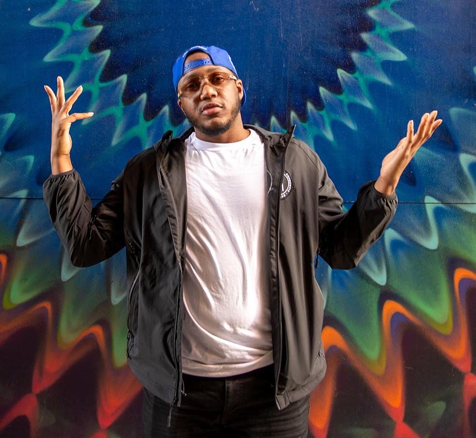 Detroit rapper Gmac Cash. - AUSTIN EVANS EIGHMEY
