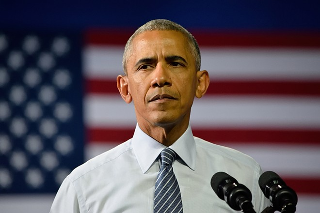 Try as Trump might to erase his predecessor's legacy and diminish his record, Obama is still the most popular politician in the country. - EVAN EL-AMIN, SHUTTERSTOCK