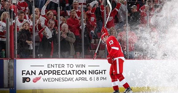 Pavel Datsyuk is hanging 'em up after 14 seasons in the NHL. - CREDIT: DETROIT RED WINGS, VIA FACEBOOK