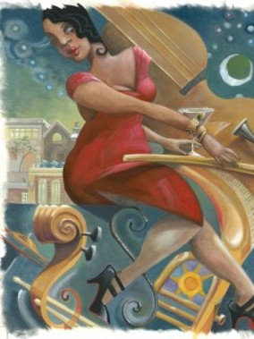 JAZZ LADY BY BARBARA HRANILOVICH | PHOTO VIA JAZZLANSING.COM