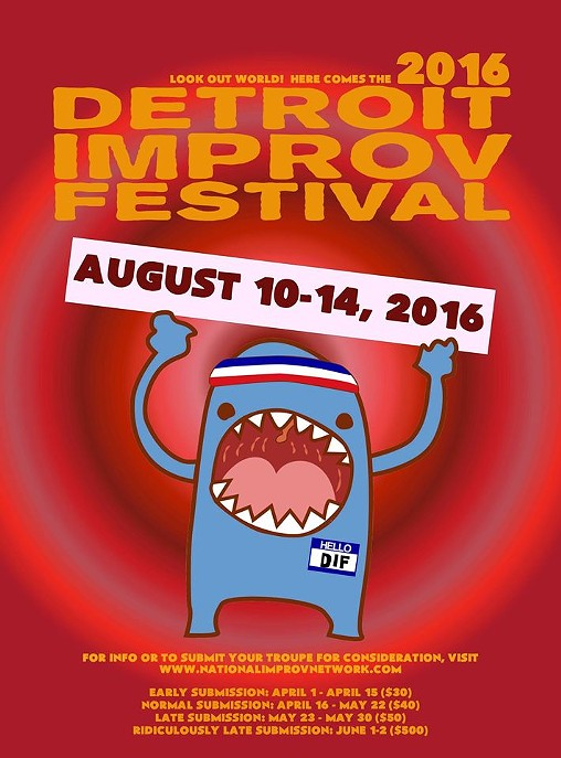 PHOTO VIA FACEBOOK: DETROIT IMPROV FESTIVAL