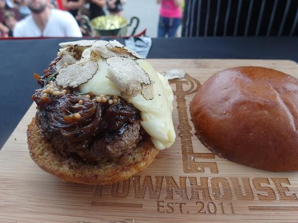 Townhouse burger - PHOTO BY SERENA MARIA DANIELS