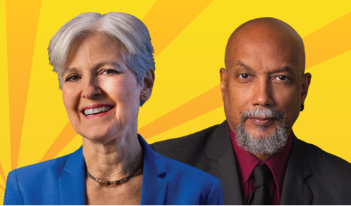 Jill Stein and Ajamu Baraka will be in town on Saturday. - SCREEN CAPTURE FROM JILL STEIN FOR PRESIDENT