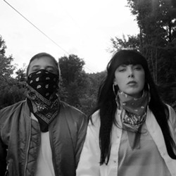 Derek Edward Miller and Alexis Krauss of Sleigh Bells. - FACEBOOK