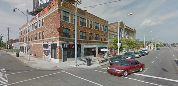 A screenshot from the corner of Jefferson and Chalmers. - GOOGLE MAPS