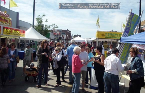 Funky Ferndale Art Fair - FACEBOOK