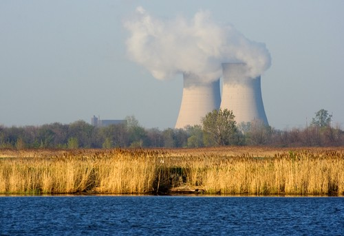 The cooling towers of Fermi 2 occupy the site of one of the first partial meltdowns in atomic history. You can learn more about that event, and the future of nuclear power, on Wednesday. - PHOTO COURTESY SHUTTERSTOCK
