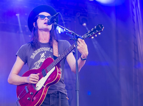 James Bay, being a babe. - SHUTTERSTOCK