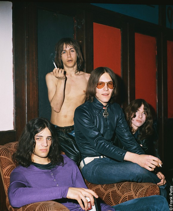 ANN ARBOR'S FINEST! IGGY POP, SCOTT ASHETON, RON ASHETON, AND DAVE ALEXANDER IN GIMME DANGER, A MAGNOLIA PICTURES RELEASE. PHOTO COURTESY OF AMAZON STUDIOS / MAGNOLIA PICTURES. PHOTO © FRANK PETTIS