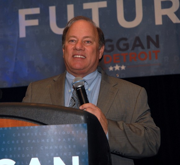 Detroit Mayor Mike Duggan. - WIKIMEDIA COMMONS