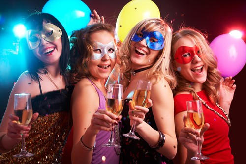 What does a Canadian feminist Halloween disco masquerade look like? We suppose it could look like this. Or not. - COURTESY SHUTTERSTOCK