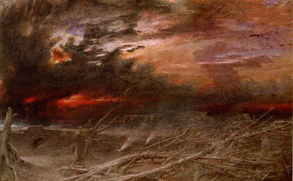 """APOCALYPSE"" BY ALBERT GOODWIN, 1903. IMAGE COURTESY WIKIPEDIA."