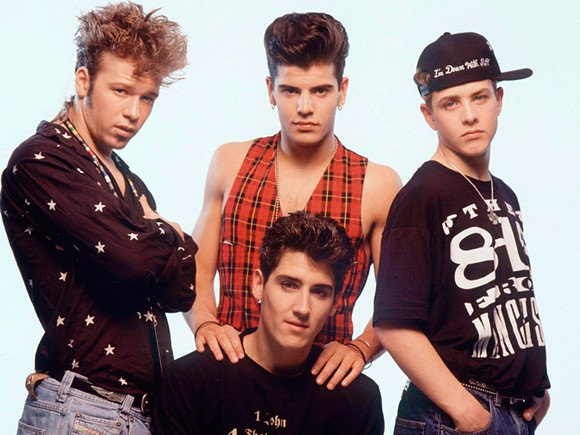 NKOTB CA. ... HOW LONG AGO WAS THAT? GOODNESS, HOW OLD ARE WE ALL NOW? OH MAN. COURTESY PHOTO.