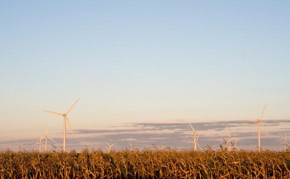 Windmill farm in Pigeon, Michigan. - SHUTTERSTOCK