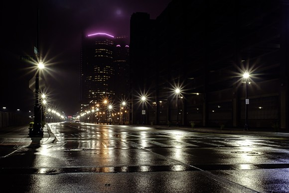 Downtown Detroit, From Rivard and Atwater. - PHOTO BY STEVE KOSS