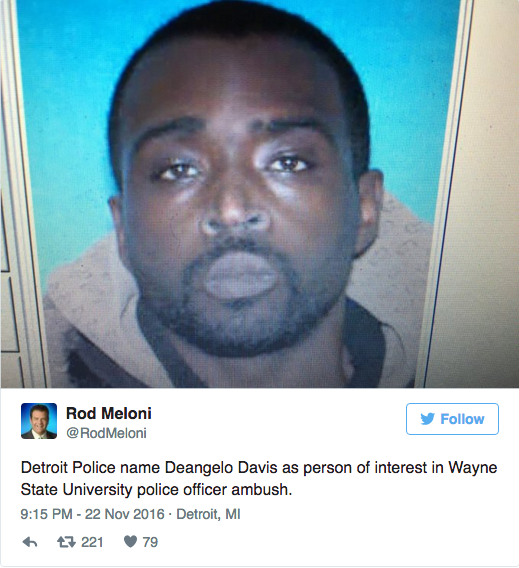 In the heat of the moment, the police thought they had their man. He was released two weeks later. Now, a citizens group wants a closer look at the case, and a meeting with WSU honchos. - TWITTER SCREEN CAPTURE